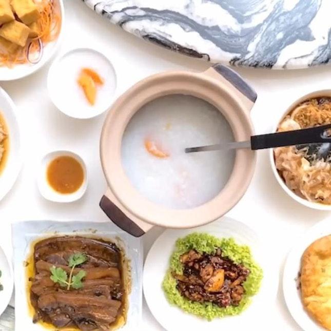 Goldleaf Restaurant @goldleafsingapore  has introduced Nostalgic Taiwanese À La Carte Porridge Buffet From $19.80++, Found At Katong Square.