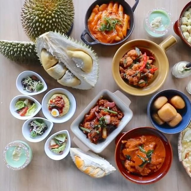 #GIVEAWAY The Ultimate DURIAN Buffet.