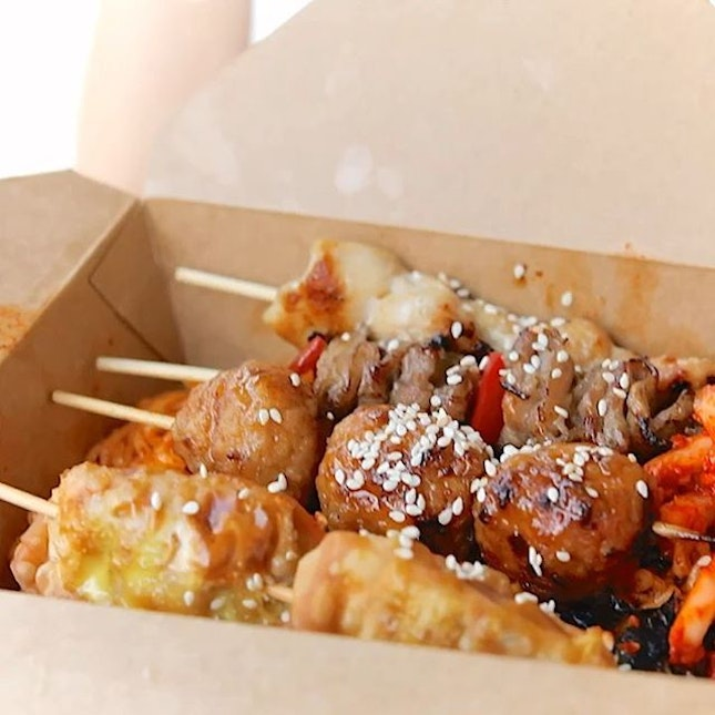 1-for-1 Korean Skewers Boxed Sets from @9pmkkochi till 19th April!