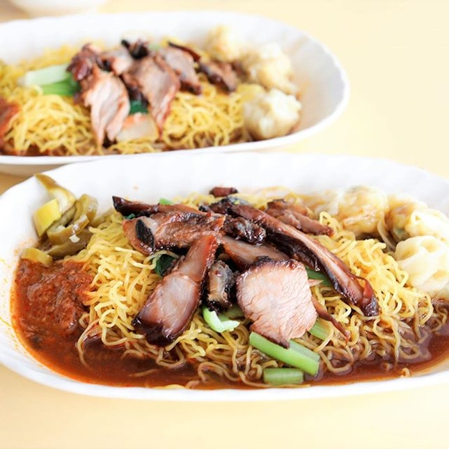"""Ah Wing"""" is probably the most famous stall at Empress Road Food Centre, and rightfully so."""