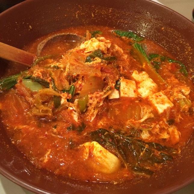 Kimchi Beancurd Soup