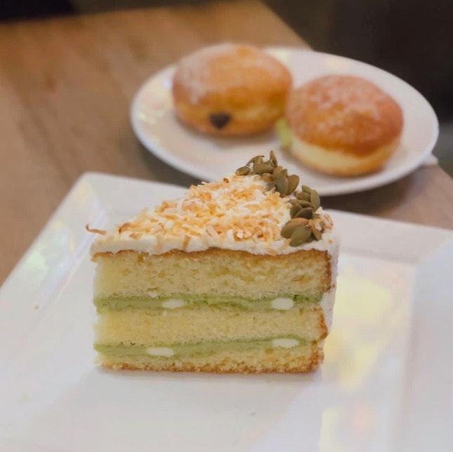 Kaya Fluff Cake
