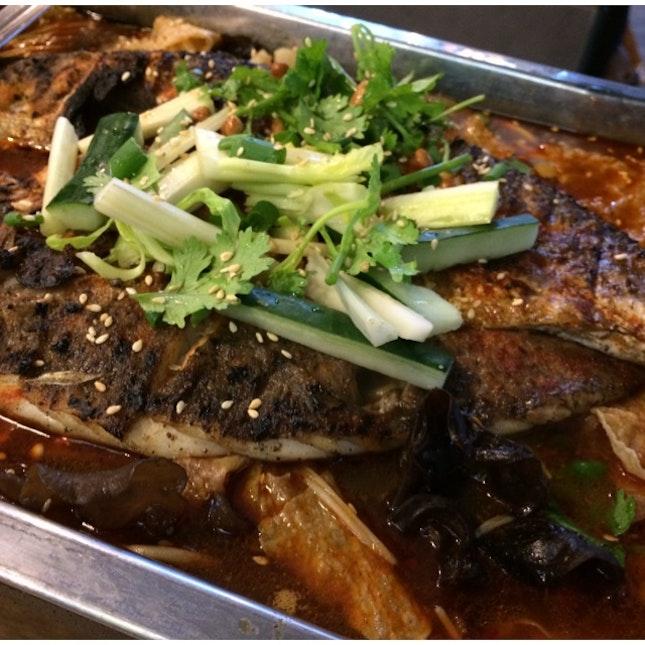 Mala Grilled Sea Bass