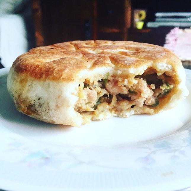 China Pan-fried Pork Bun