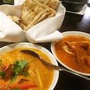 Prawn Curry, Butter Chicken & A Basket Of Naan