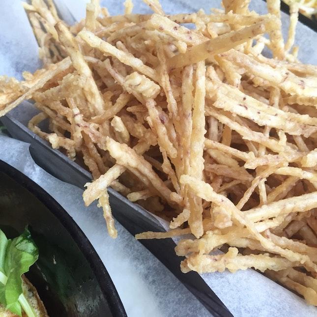 Truffled Taro Fries