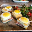 Croque Madame (Part Of The Brunch Menu)