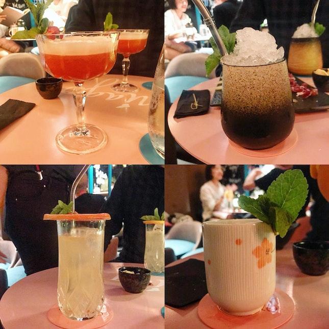 Cocktails (average: $22/drink)
