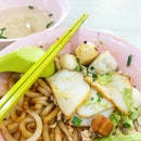 Self-made Fishball 自制西刀鱼圆 (Berseh Food Centre)