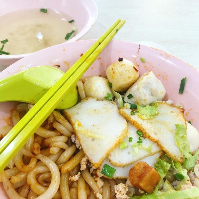 Fishball Noodle ($3.50)