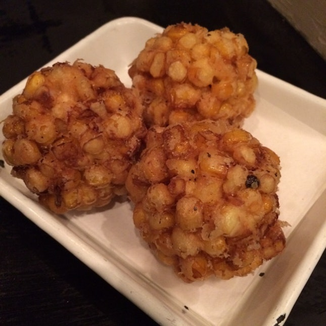 Fried Corn Ball