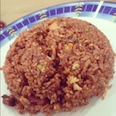 Nasi goreng casio for dinner 🙆 #fried #rice #pork #yummy #delicious #food #instafood #ig #instagram #surabaya