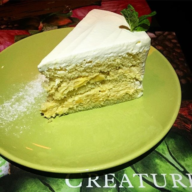 The delicious durian cake that took my breathe away!