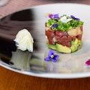 #MaguroTartare: #Tuna Akami, Hokkaido Scallops & #Avocado #Tartare.