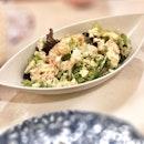 <🇩🇪> Egal wie schwer es jetzt ist, es würde nie immer schwer <🇬🇧> No matter how hard it is now, it won't be always like this • 🥗: Salad - $7.9++ 📍: @kabenoana.sg @shokutsuten