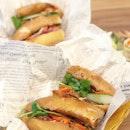 <🇩🇪> Jeder Tag ist ein Geschenk <🇬🇧> Every day is a present • 🌭: Sardine Baguette - S$8.0 📍: @sandwichsaigon Singapore
