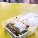 <🇩🇪> Mittagessen <🇬🇧> Lunch • 🍱: Nasi Lemak Fish+Perkedel - S$3.90+S$0.9 📍: Selera Rasa Nasi Lemak, Singapore