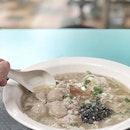 <🇩🇪> Wenn dein Bauch sich nicht so gut fühlt <🇬🇧> When your stomach isn't feeling well • 🍲: Hor Fun Noodle Soup - S$6 📍: @taiwah_pork_noodle Singapore