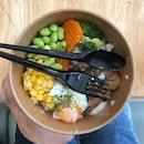 <🇩🇪> Ich versuche mal, gesunderes Essen zu nehmen <🇬🇧> I am trying to have a healthier intake • 🥗: Chicken Teriyaki set - S$7.2 📍: @jollibean_sg Singapore