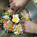 🇰🇷Bibimbap with @francis_huat_ah @cankneechalk @may_let #大长今 #bibimbap  #lunch #chef #eatingcolors #healthy #fitfood #foodpic #foodporn #foodforsoul #instapic #instafood