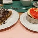 Earl Grey Summer Berries Cupcake & Chocolate Banana Banoffee Pie