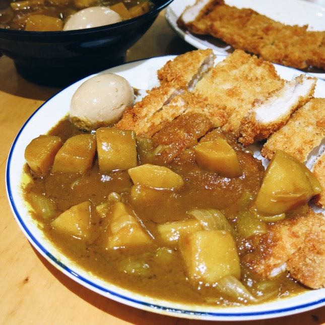 Japanese Double Tonkatsu Original Curry Rice ($11.80)