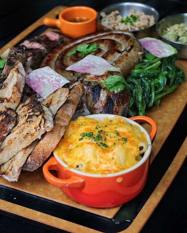 Part of the Unlisted Collection group of restaurants, The Market Grill is helmed by Executive Chef Kenneth Lin who takes his grill very seriously.