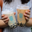 With a brand name and mascot to represent its Singapore nature, this bubble tea is clearly created for the locals.