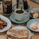 Missing the days when we can have kaya toast and soft boiled eggs with a cup of kopi in a coffeeshop.