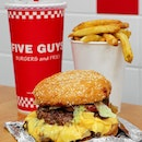 Five Guys is like a burger institution, simplicity at its best.