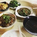 One of my fav Teochew porridge stalls!
