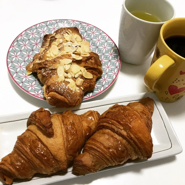 Stick to Croissants!! (mini & Almond)