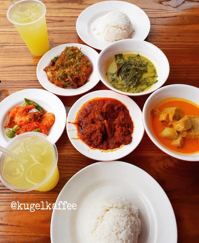 Nasi Padang 5 Main Dishes (share)