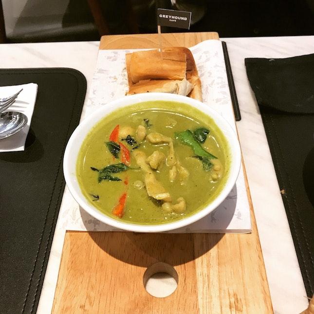 Green Curry Chicken $12