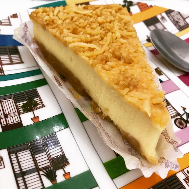 King's baked Cheesecake $4.70