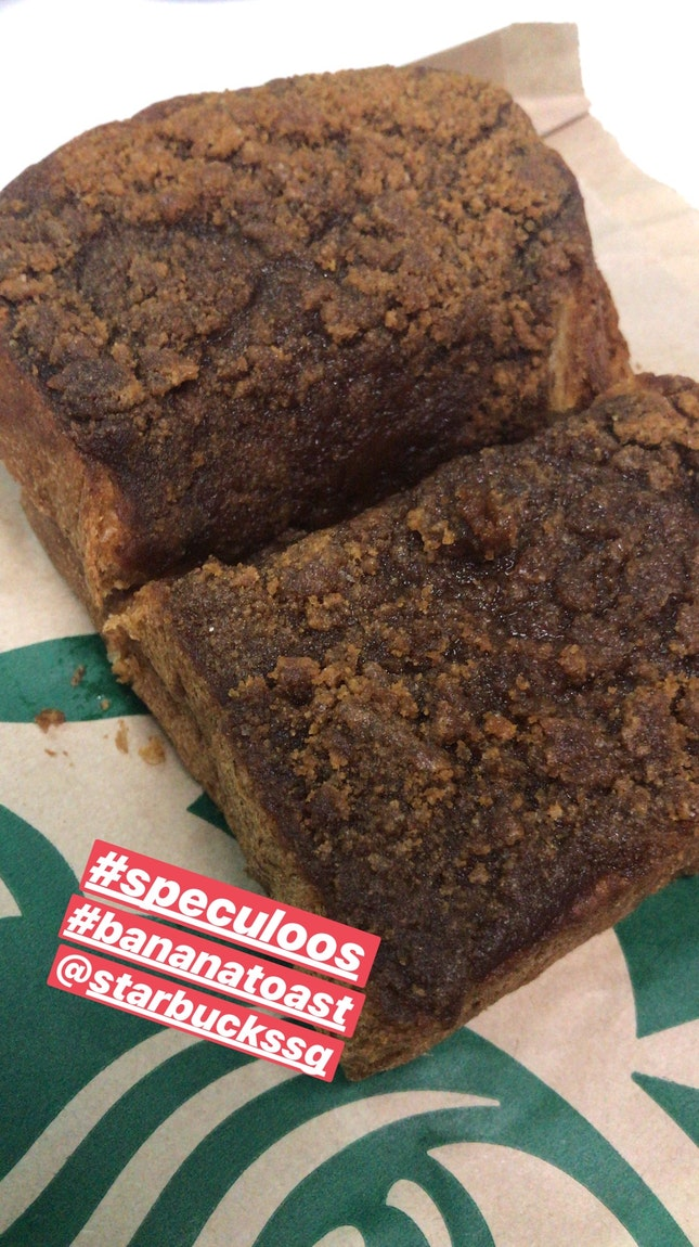 Speculoos Banana toast $4.90