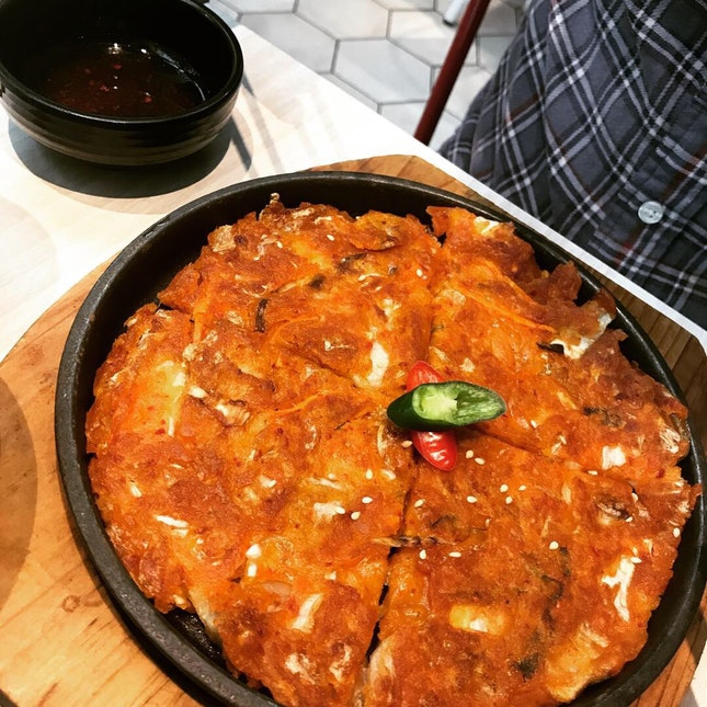 Kimchi Pancake (in Special One Set)