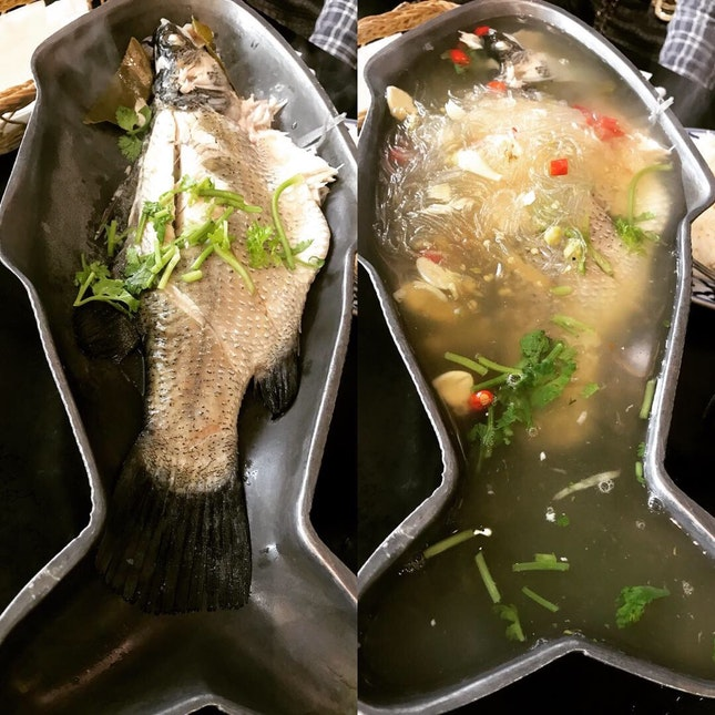 Thai Lemon Steamed Fish (spicy) $18.30
