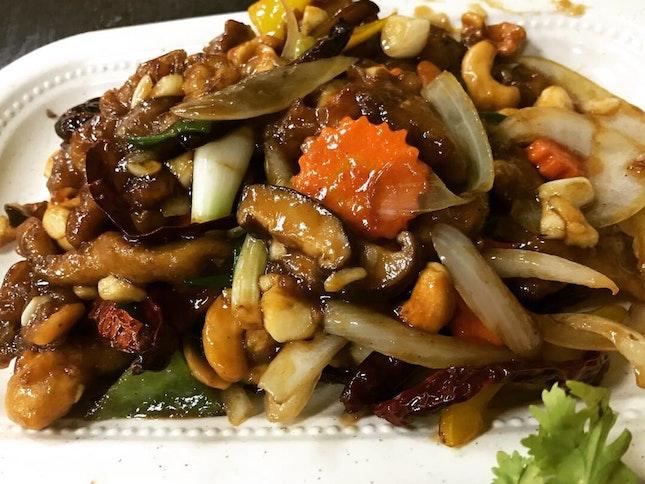Cashew Nut Chicken $15