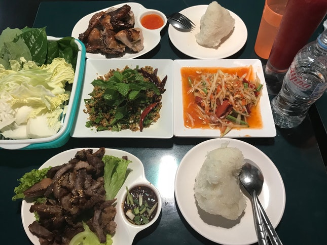 Classic Isan Dishes ($20 Pax)