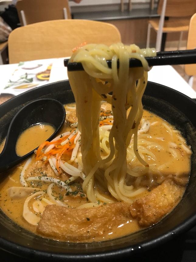 Laksa Soup Ramen $7.80