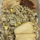 Oat Rice (Sesame Oil Mushroom) $5.50