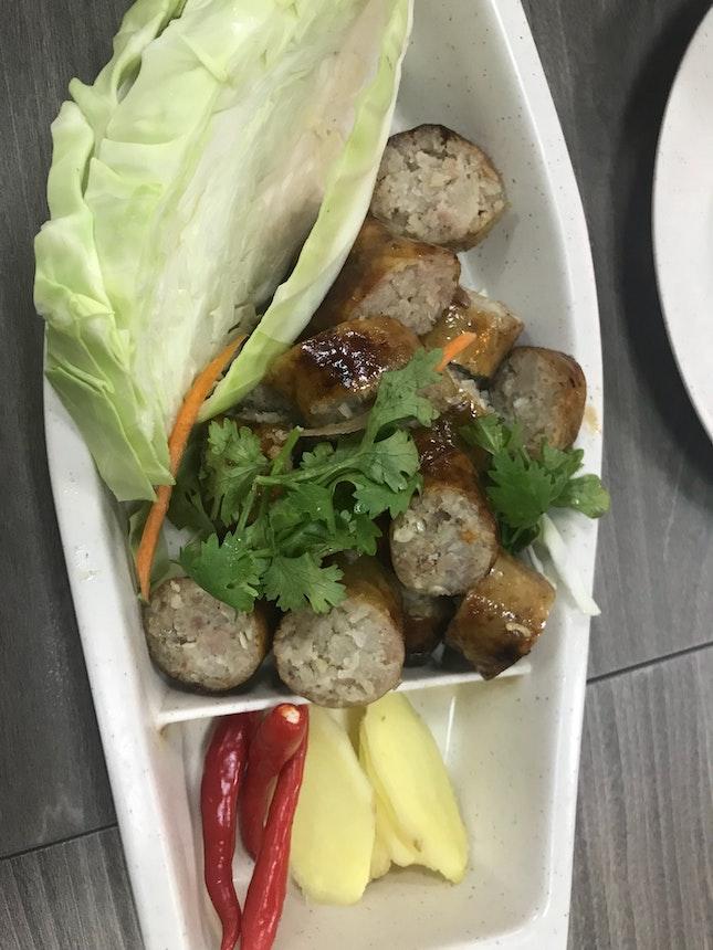 Isan Sausage $12