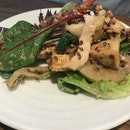 Smoked Chicken, Roasted Celeriac, Pear Salad ($2.80)