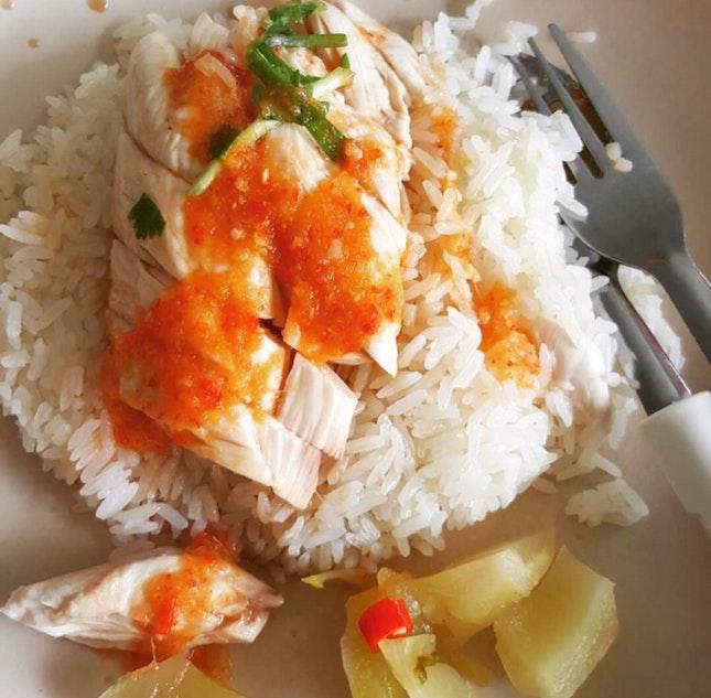Chicken Rice 🍚 🐔 $3