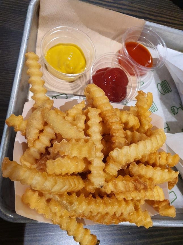 Fries $4.50
