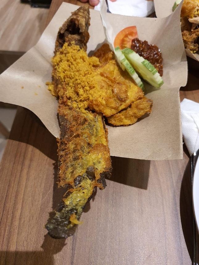Fried Catfish (Lele Goreng) $6.90