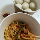 Mee Pok Fishball Noodle ($5.50)
