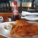 Fish n Chips n coffee