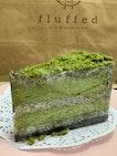 Sesame Matcha Cake